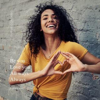 Kort, krachtig én prachtig  ❤️ . . .  Credits  Quote form @Alex_Elle Image by #CanvaPro  #zelfliefde #selflove #weesjezelf #jezelfkennen #wiebenik #youareenough #jezelfaanvaardenzoalsjebent  